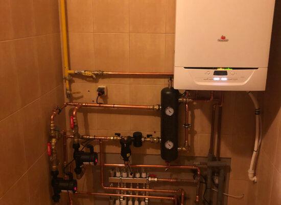 Kocioł gazowy Saunier Duval-modernizacja kotłowni