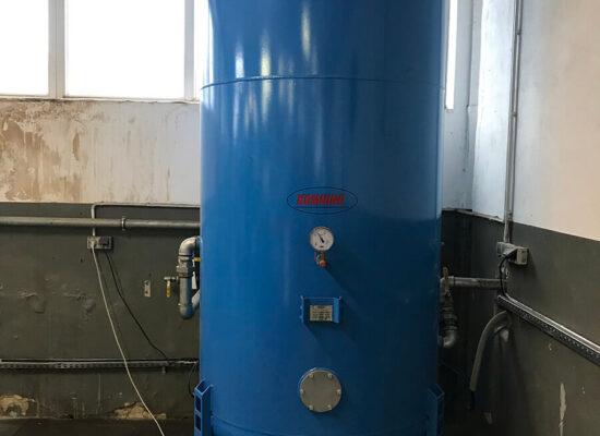 instalacja sprężonego powietrza-hala produkcyjna